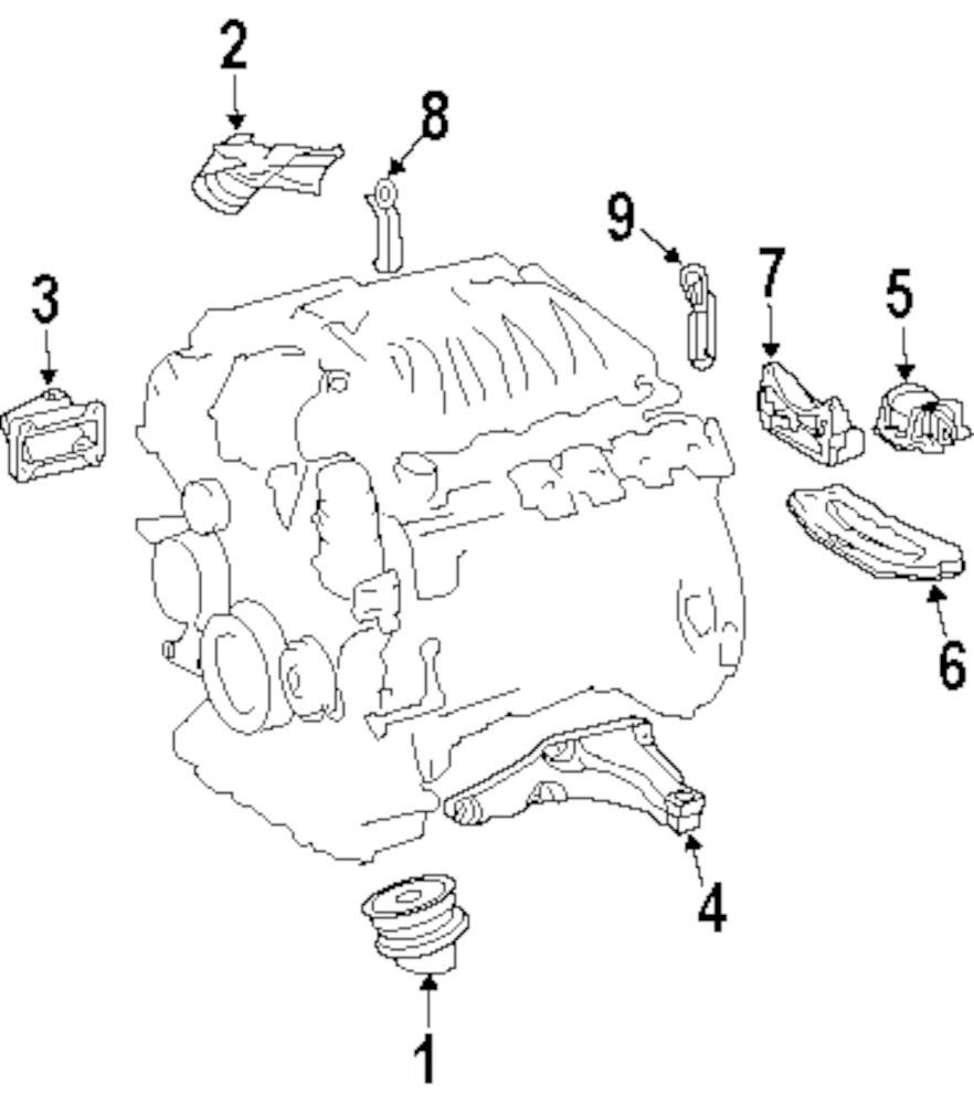 hight resolution of genuine mercedes benz mount bracket mbz 1122235904