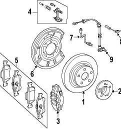 genuine mercedes benz brake pads mbz 0044204420 [ 973 x 1000 Pixel ]