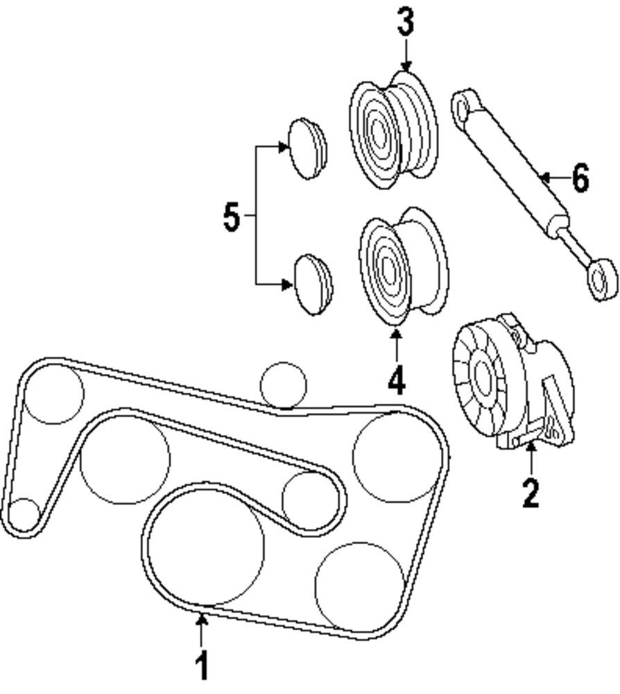 hight resolution of 1998 c280 serpentine belt diagram