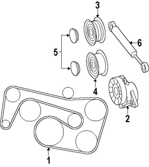 small resolution of 1998 c280 serpentine belt diagram