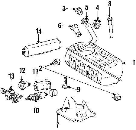 hight resolution of fuel pump assy