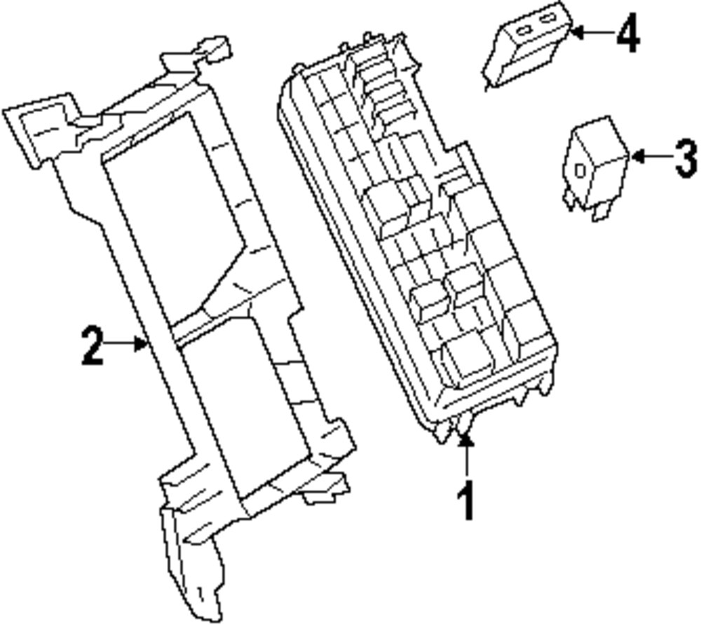 2008 MERCEDES-BENZ GL320 Fuse And Relay Parts