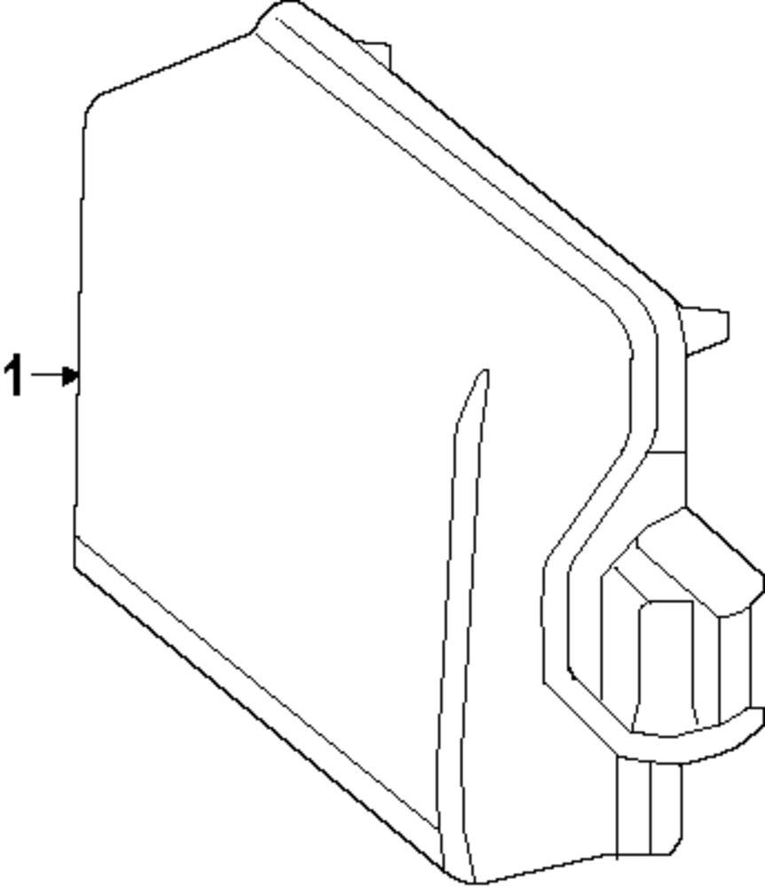 medium resolution of genuine mercedes benz object sensor bracket mbz 2128850314