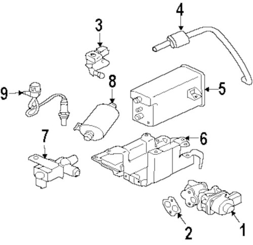 small resolution of genuine mitsubishi vapor canister bracket mit 1780a057
