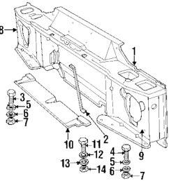 genuine land rover radiator support washer ran 3831l [ 978 x 1000 Pixel ]