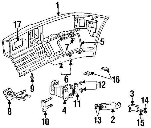 Genuine land rover bumper insulator ran anr2276