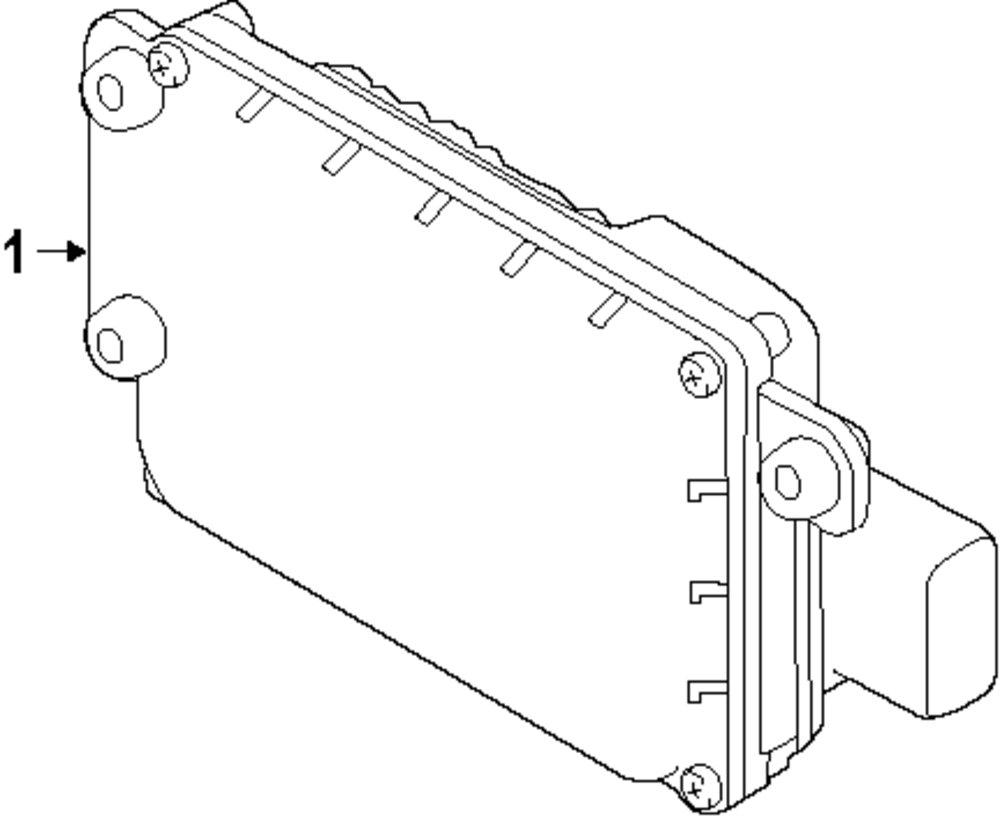medium resolution of genuine land rover pad ran lr041480