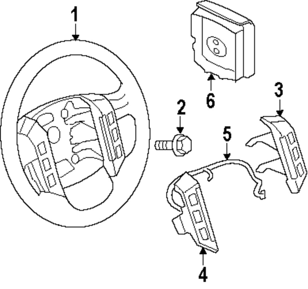 Genuine land rover switch ran xpd500680