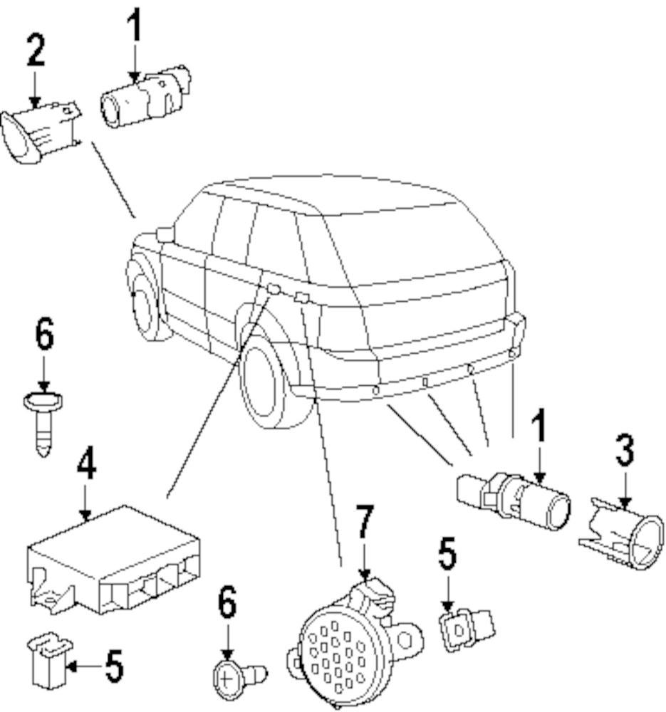 Genuine land rover module nut ran czk3264l