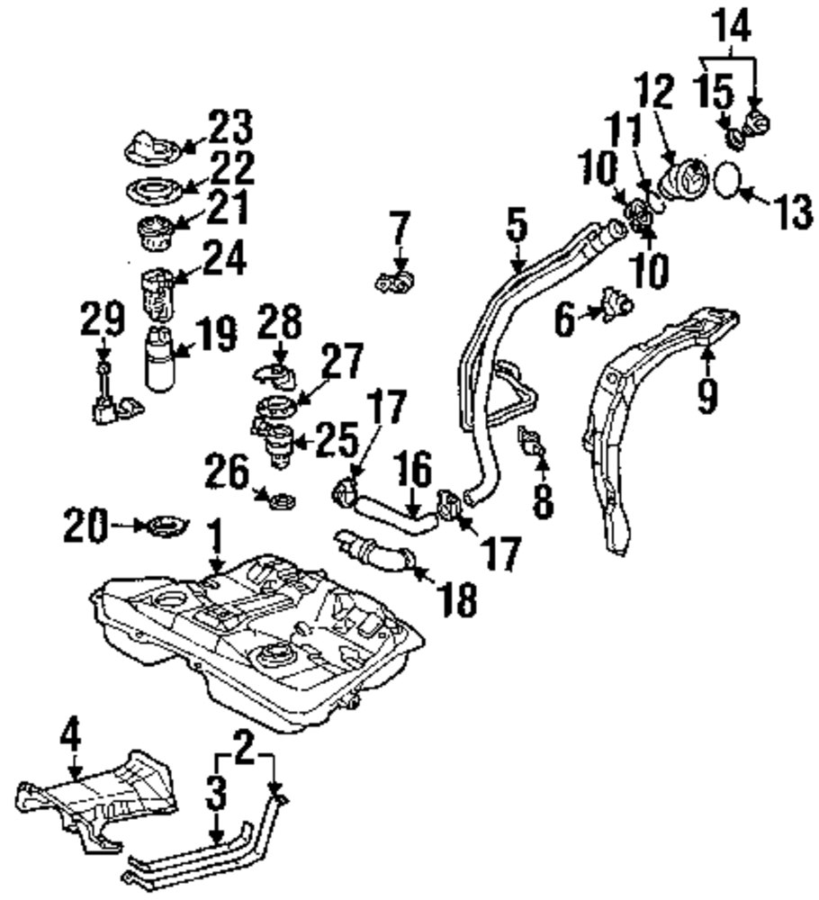 Toyota T100 Fuse Schematics, Toyota, Free Engine Image For