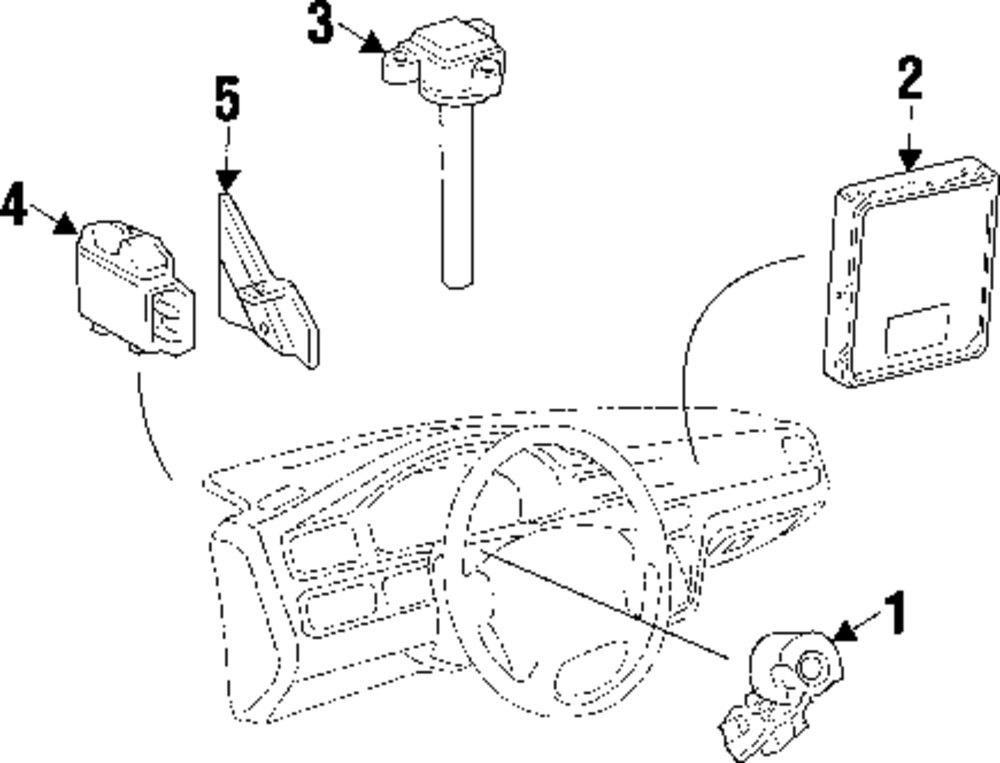 1999 SUZUKI VITARA Ignition System Parts