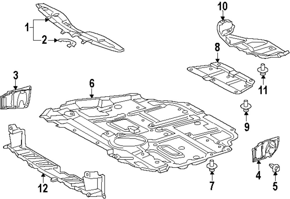 Toyota Prius Body Parts Diagram
