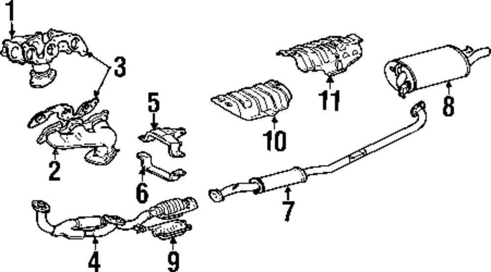1997 Lexus Es 300 Parts Diagram. Lexus. Wiring Diagrams