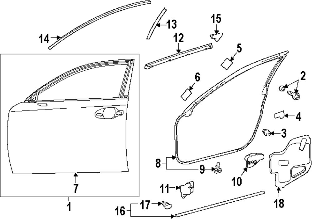 Lexus Is250 Parts Diagram