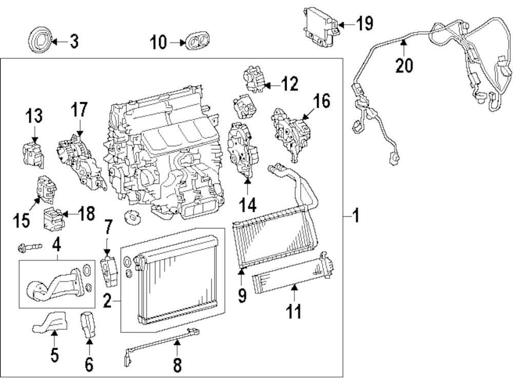 Lexus Gs300 Air Conditioner Diagram. Lexus. Auto Parts