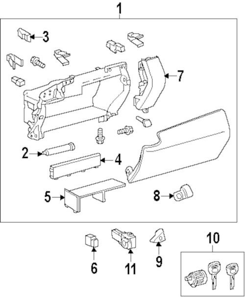 small resolution of genuine lexus glove box assy pin lex 5553148030