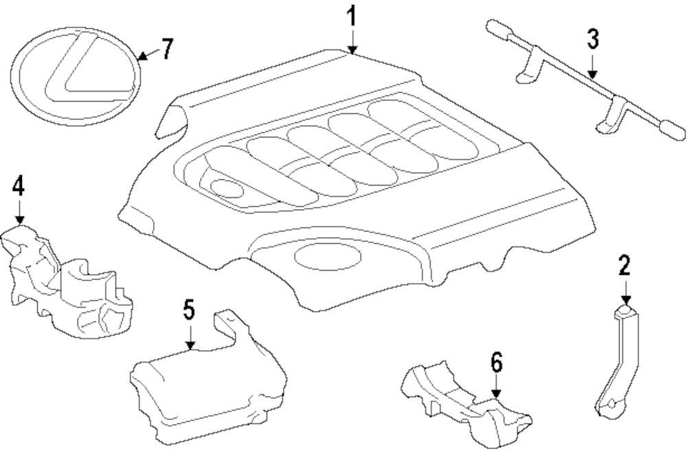 2007 Lexus Is250 Part Diagram. Lexus. Wiring Diagrams