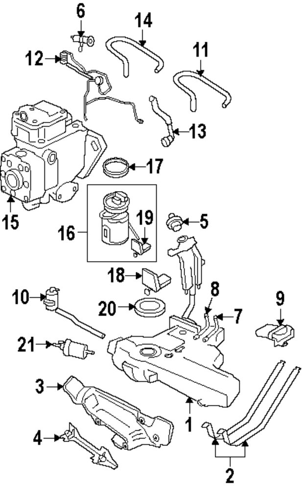Suzuki Aerio Parts Diagram Pictures to Pin on Pinterest