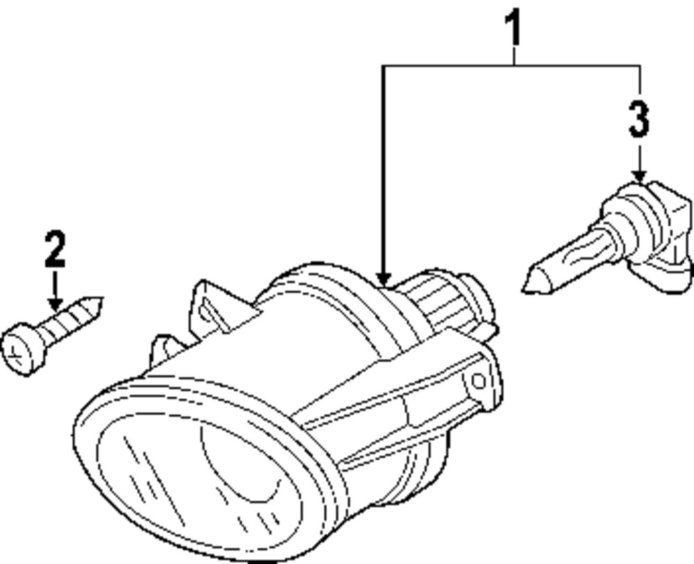 Genuine volkswagen rear shield bolt vwg n10354602