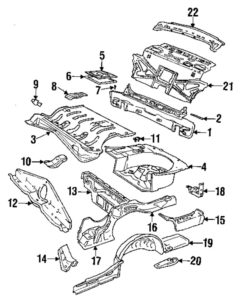Volkswagen Tiguan Fog Light Diagram