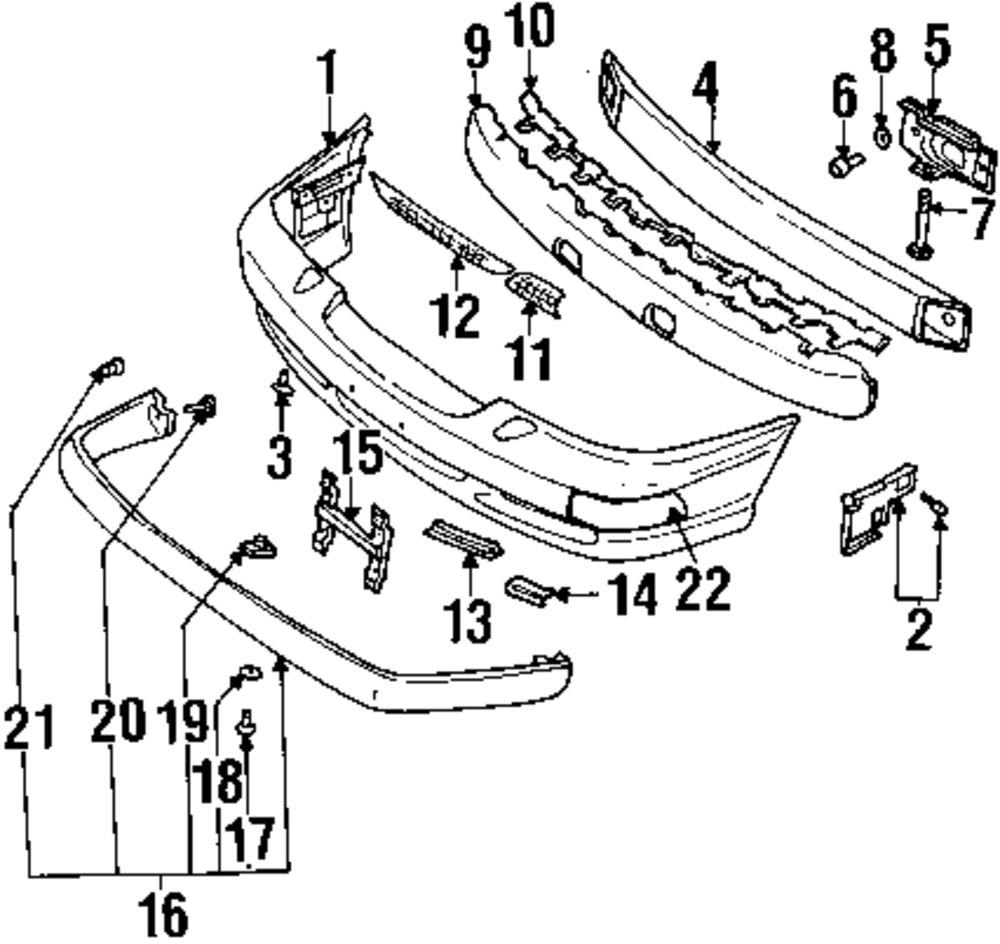medium resolution of genuine volvo impact pad clip vol 1349895