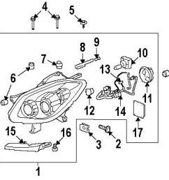 2008 buick enclave headlamp components parts this is not a real rh 100628 1440 nexpartb2c com 2008 gmc acadia parts diagram 2008 buick enclave wiring  [ 1000 x 893 Pixel ]