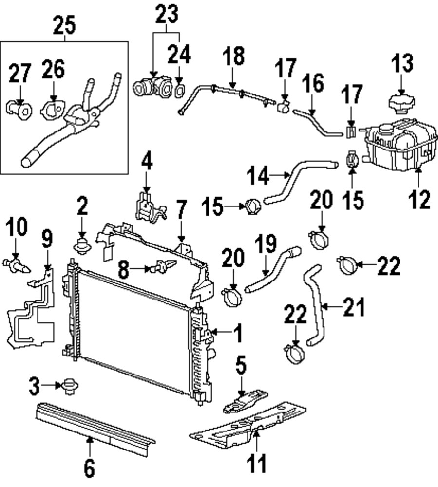 medium resolution of buick radiator diagram wiring diagram world 2003 buick lesabre engine diagram cooling