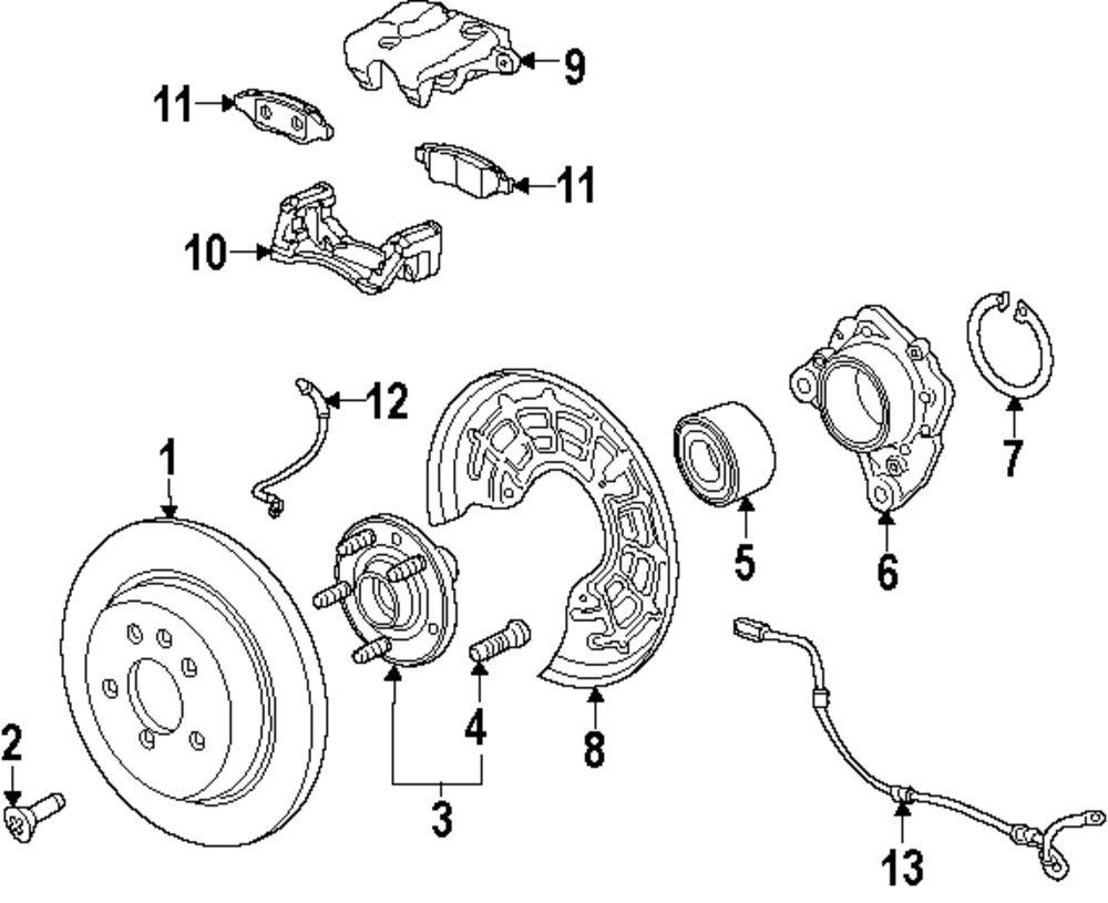 medium resolution of mercede brake diagram
