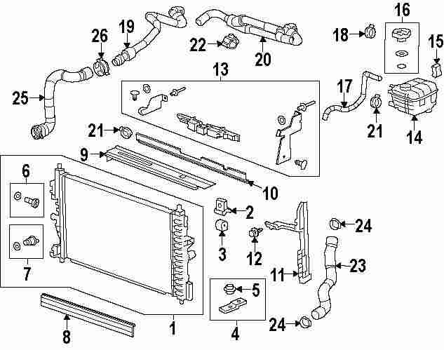 2011 Chevrolet Cruze Water Outlet Diagram. Chevrolet. Auto
