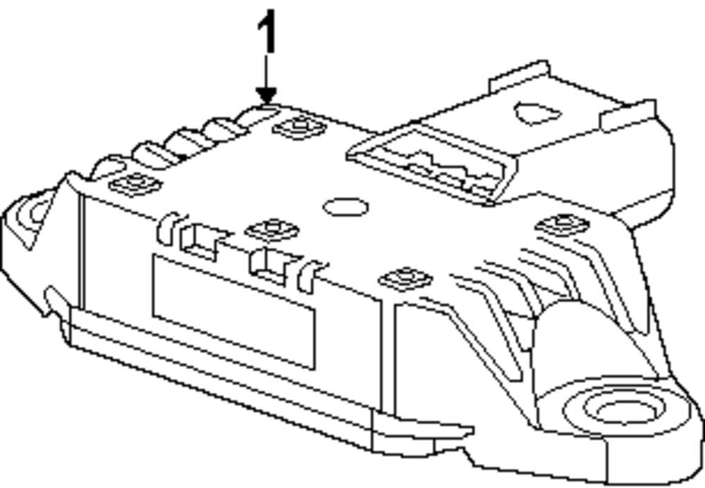2014 CHEVROLET SONIC Ride Control Components Parts