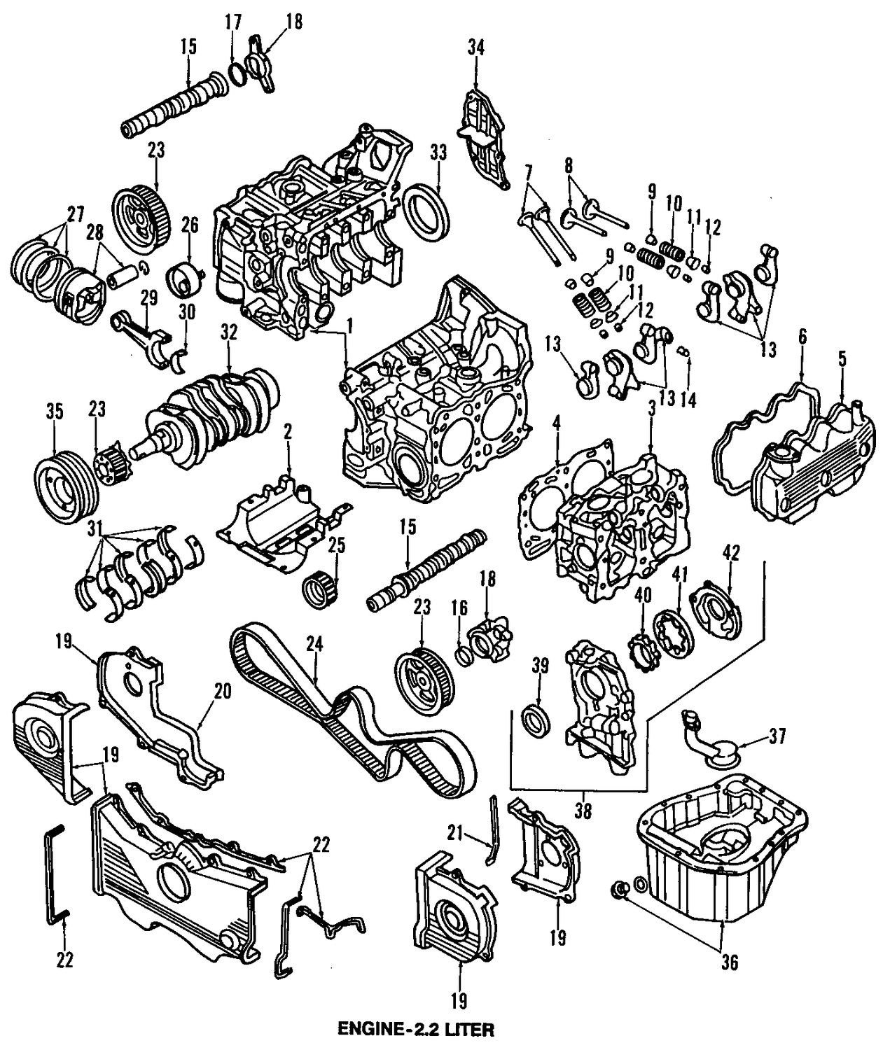 Subaru Ej20 Engine Diagram Periodic Amp Diagrams Science