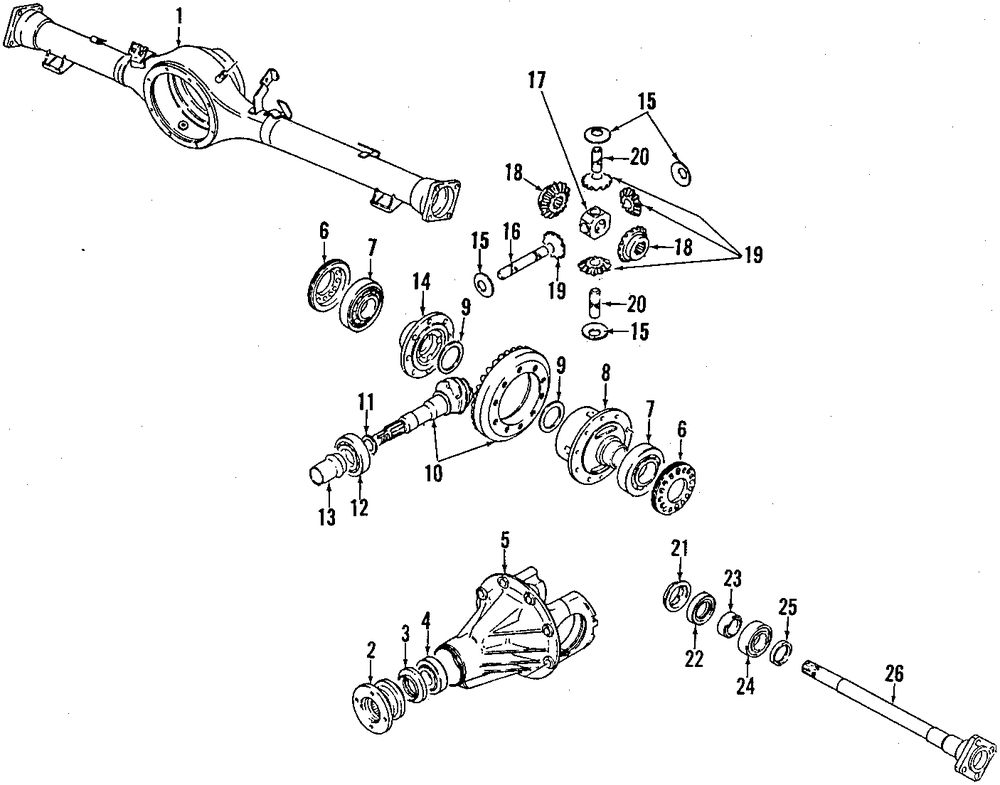 Service manual [1993 Suzuki Sidekick Tail Gate Washer