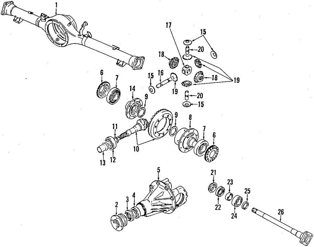 Service manual [1993 Suzuki Sidekick Tail Gate Washer