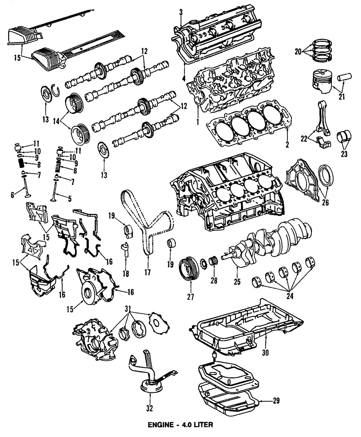 2003 Lexus Ls430 Engine Diagram. Lexus. Auto Parts Catalog