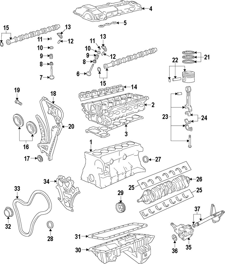 hight resolution of genuine bmw engine bmw 11002210569