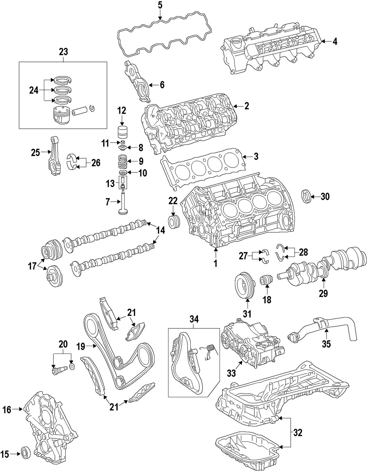 Sel Engine Parts Diagram, Sel, Free Engine Image For User