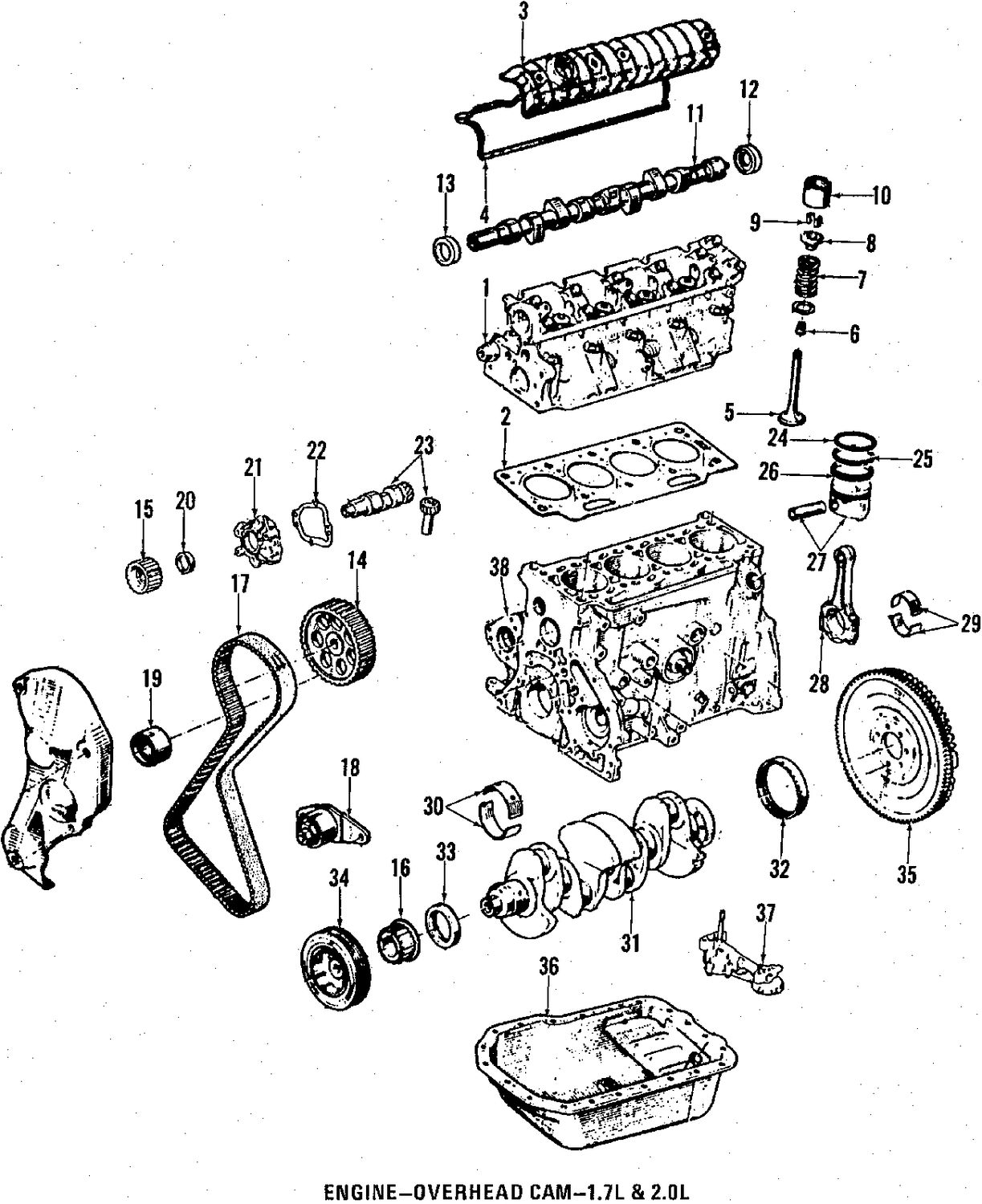 Renault Encore Camshaft And Timing Parts