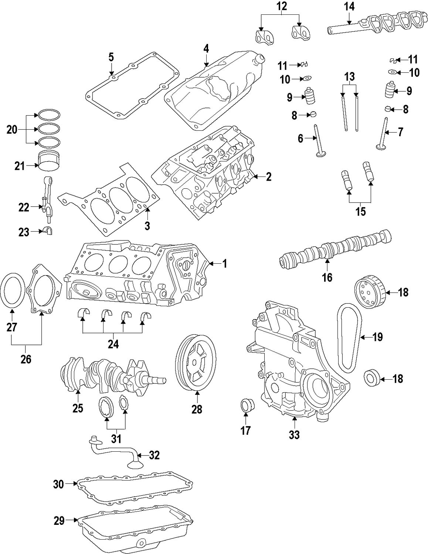 hight resolution of genuine volkswagen oil pan gasket vwg 7b0103609