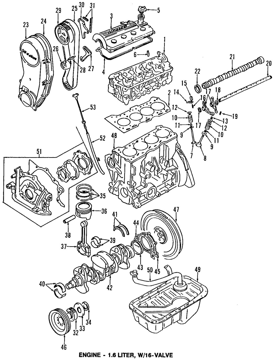 Suzuki Engine Diagram