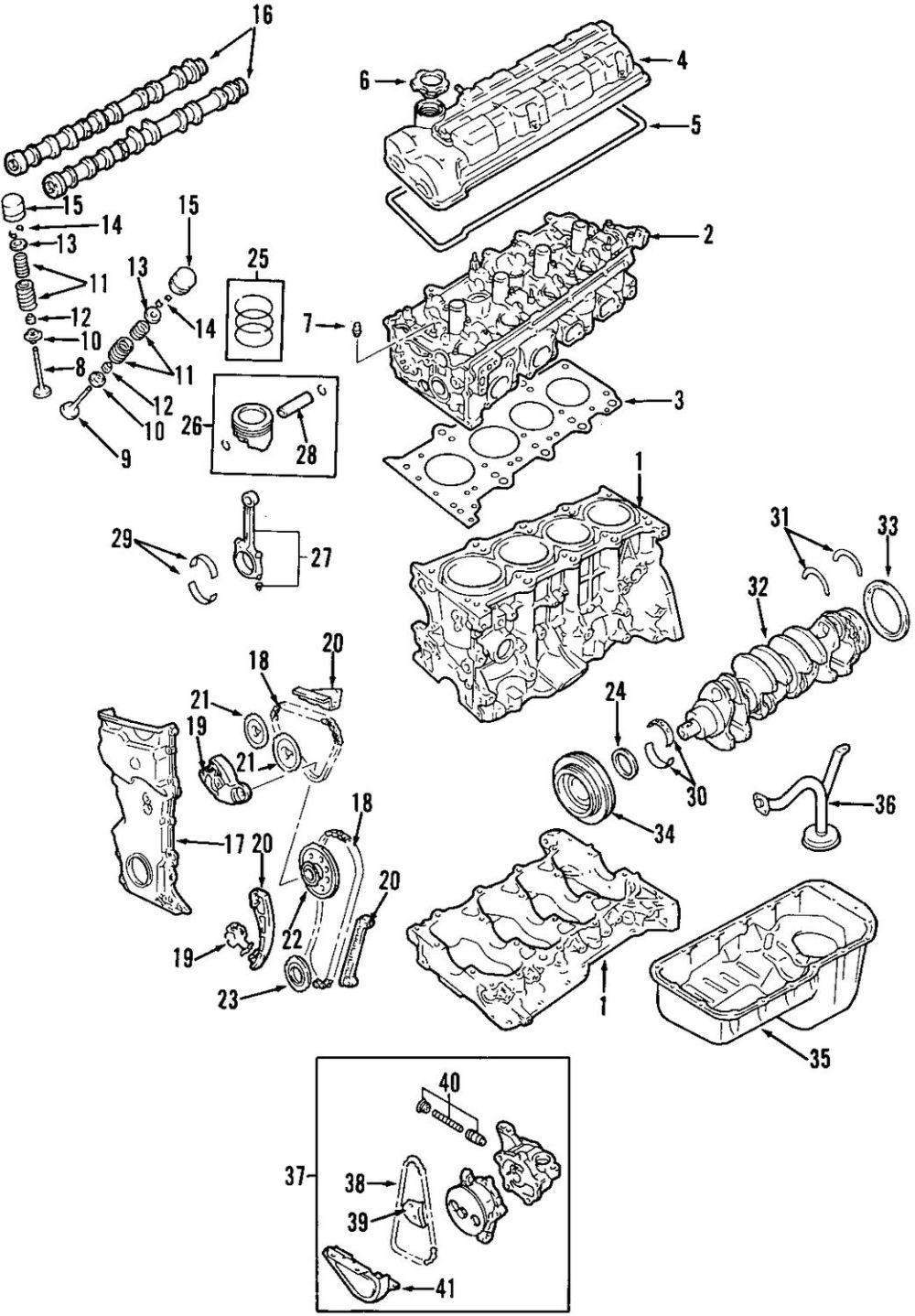 medium resolution of genuine suzuki bearings suz 12100858240a0