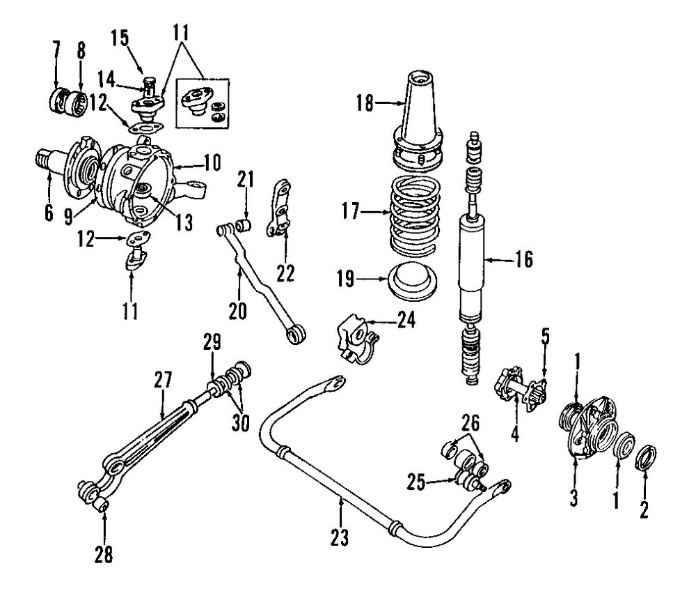 Service manual [1995 Land Rover Range Rover Diagram