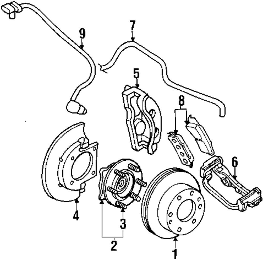 2003 CADILLAC ESCALADE ESV Front Suspension Parts