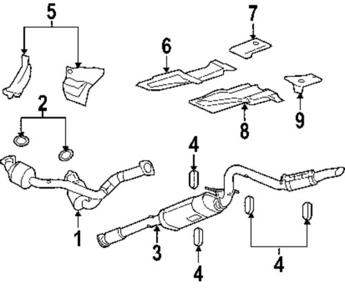 small resolution of genuine gmc cross over pipe seal gmc 15077362