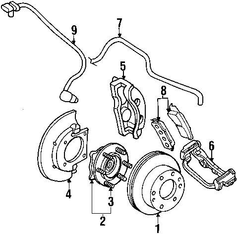 Genuine gmc brake hose gmc 15882778