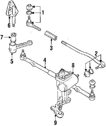 hight resolution of genuine chevrolet idler arm che 96058691