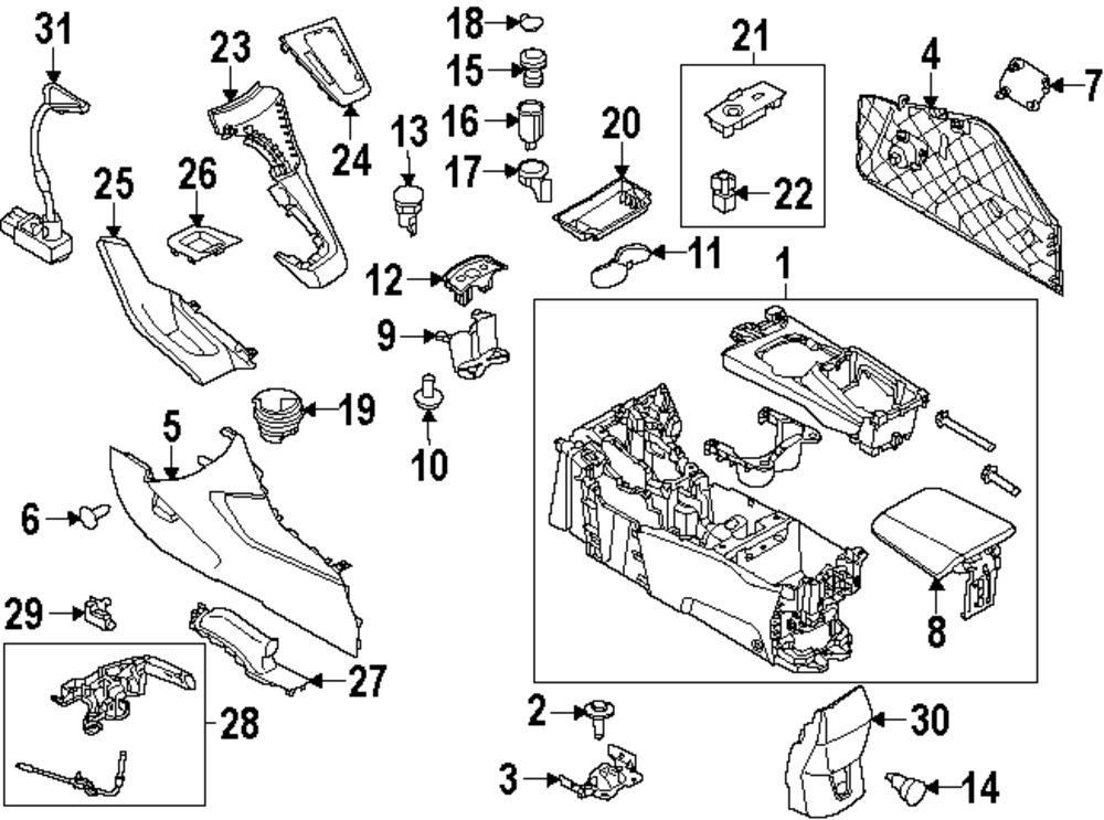 Ford Focus Accessories Parts At Carid Com. Ford. Auto