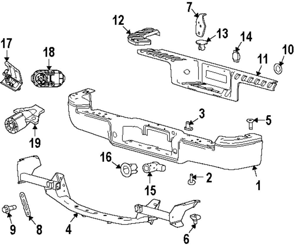 1998 Ford Contour Rear Suspension Diagram, 1998, Free