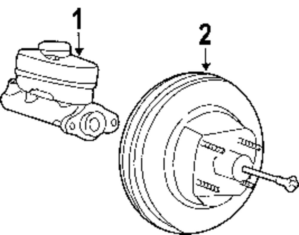 hight resolution of master cylinder