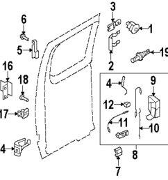 genuine ford lock cylinder retainer for 8c2z1522023b [ 1000 x 886 Pixel ]