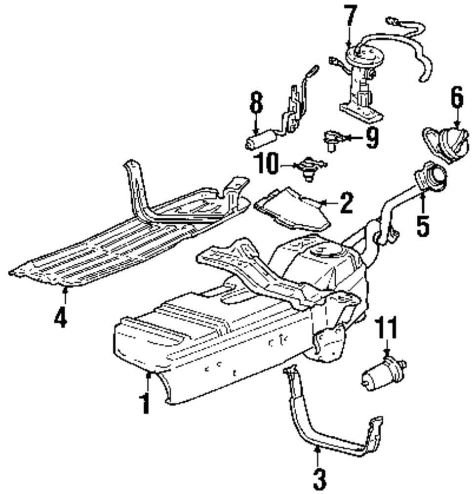 1999 Gmc Sierra Parts Diagram • Wiring And Engine Diagram